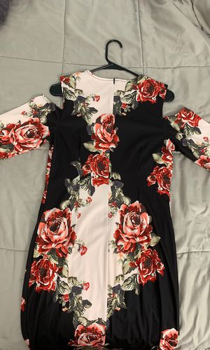 Dress Floral Printed Short Sleeve for Sale in Manassas, VA