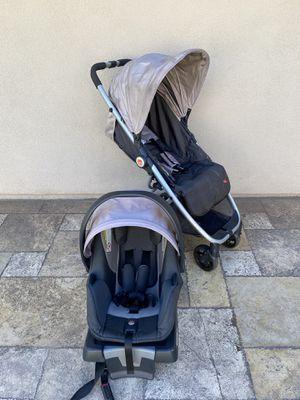 GB LIGHTWEIGHT BABY STROLLER AND CAR SEAT!! for Sale in San Bernardino, CA