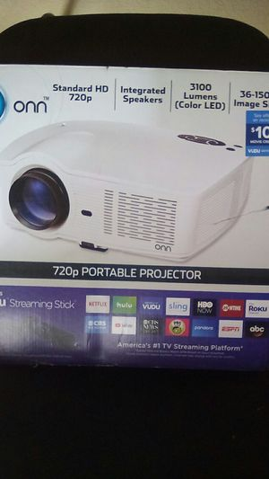 onn 720p Portable Projector for Sale in Fort Worth, TX