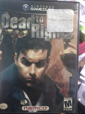 Dead to right Nintendo GameCube game for Sale in Columbus, OH