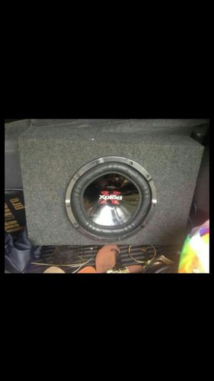 10 inch kicker with amp for Sale in Pittsburgh, PA