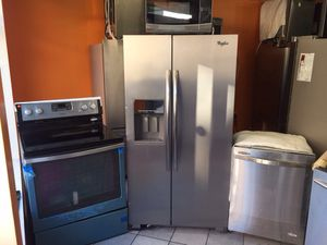 Stainless steel kitchen set for Sale in Long Beach Township, NJ