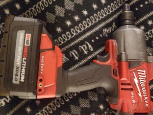 Milwaukee m18 impact wrench with high output 8.0 battery for Sale in Gresham, OR