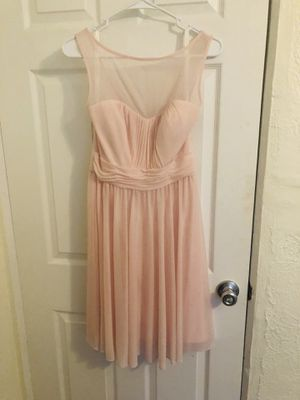 David's bridal bridesmaid dress pink size 6 for Sale in St. Petersburg, FL
