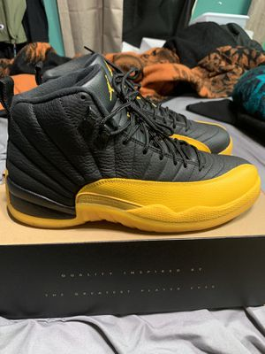 """Jordan Retro 12 """"University Gold"""" size 10 Used Once for Sale in Los Angeles, CA"""