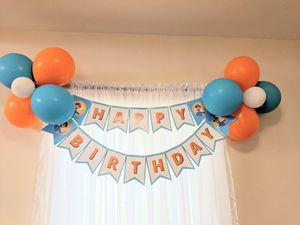 Blippi decoration for birthday party for Sale in Coral Gables, FL