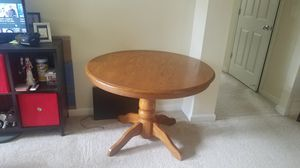 Big wooden table in excellent condition for Sale in Herndon, VA