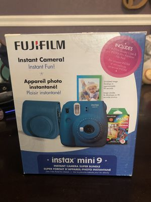 Fuji Instant Camera, cover and film for Sale in Tampa, FL