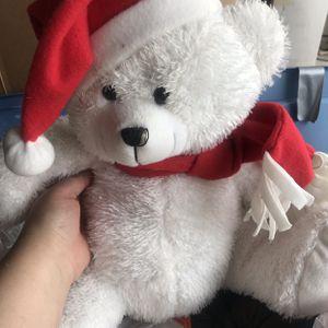 Christmas Bear Stuffed Animal for Sale in Rowlett, TX