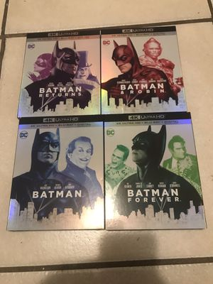 4k Batman collection for Sale in Los Angeles, CA