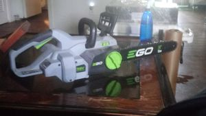 "EGo 14"" Chainsaw NO BATTERY for Sale in Austin, TX"