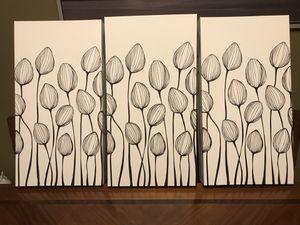 Beautiful arts. Set of 3. $35 for Sale in Aurora, IL
