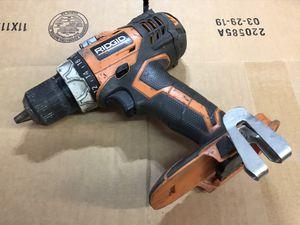 "Ridgid 18V cordless 1/2"" compact drill driver for Sale in Sunnyvale, CA"