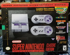 Super Nintendo Game system new for Sale in Jersey City, NJ