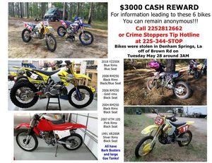 Stolen Dirt Bikes for Sale in Baton Rouge, LA