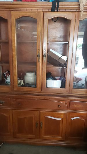 Antiques China cabinet for Sale in Ocoee, FL