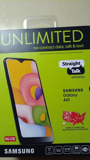 Samsung Galaxy A01 phone for Sale in Asheville, NC
