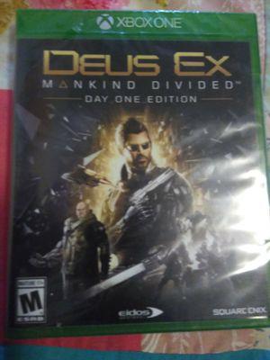 XBOX ONE Deus Ex and Lego Batman Game for Sale in Gresham, OR