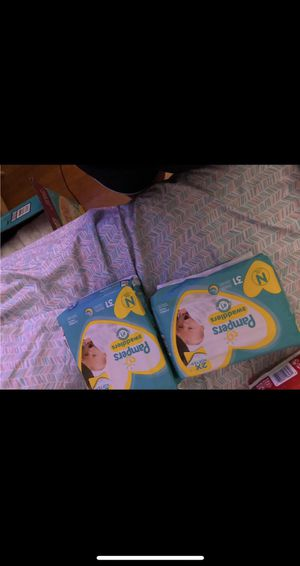 Pampers newborn for Sale in Houston, TX