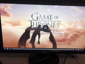 Acer 27 inch LED Monitor Awesome Gaming & Video for Sale in Kennesaw, GA