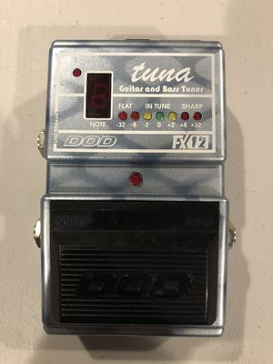 Guitar tuner pedal for Sale in Twinsburg, OH