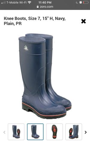 Servus rubber boots for Sale in San Diego, CA