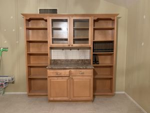 Back bar w/ cabinets & shelving for Sale in Peoria, AZ