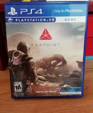 FARPOINT VR - PS4, PERFECT CONDITION, FIRM PRICE, NO TRADE for Sale in Garden Grove, CA