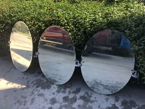 Three oval mirrors for Sale in Maitland, FL
