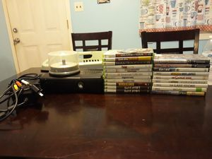 Xbox 360 and games for Sale in Four Oaks, NC