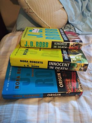 J.D Robb books for Sale in NORTH PRINCE GEORGE, VA