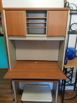 Desk and organizer shelves for Sale in San Diego, CA