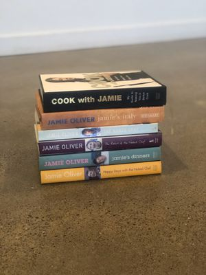 Collection of Jamie Oliver cookbooks for Sale in Portland, OR