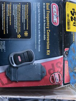 Genie Dual Frequency Conversion Kit for Sale in Indianapolis,  IN