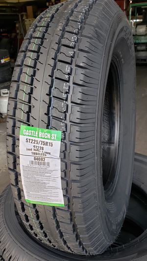 10 ply Trailer tires for Sale in Stockton, CA