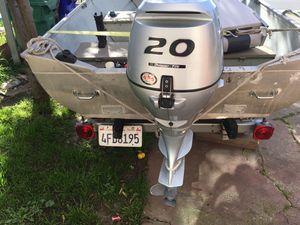 Aluminum boat for Sale in San Pablo, CA
