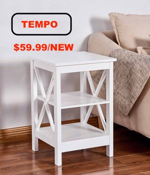 X Side End Table, White for Sale in Huntington Beach, CA