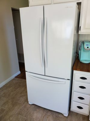 Samsung White French Door Counter Depth Refrigerator for Sale in San Diego, CA