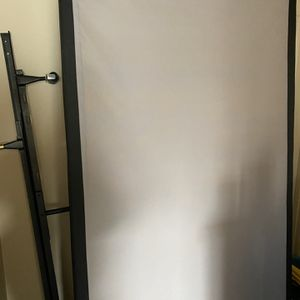 Two Twin Size Box Springs For King Size Bed With Bed Frame for Sale in Puyallup, WA