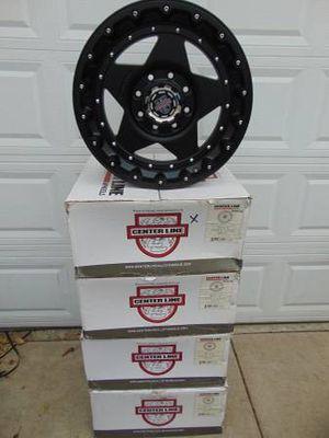 Brand New 20X9 Centerline Matte Black Rims *8X170 FORD* *+12MM Offset* for Sale in Aurora, CO