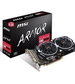 MSI Gaming Radeon RX 580 256-bit 4GB GDRR5 DirectX 12 VR Ready CFX Graphcis Card (RX 580 ARMOR 4G OC) for Sale in Strafford,  PA