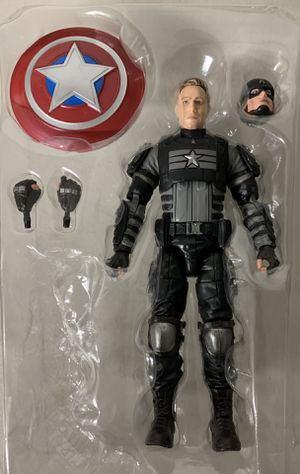 "CAPTAIN AMERICA STEALTH Hasbro MARVEL LEGENDS GAMER VERSE 2020 6"" inch ACTION FIGURE for Sale in Rancho Cucamonga, CA"