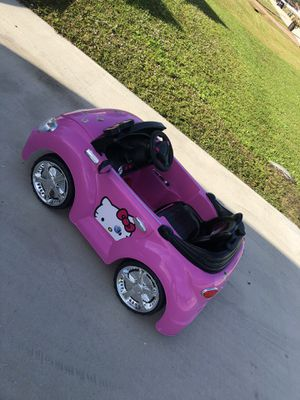 Baby car hello kitty for Sale in Cape Coral, FL
