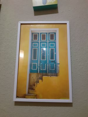 Wall Decor Street door $15.00 cash only (serious buyer) for Sale in Dallas, TX