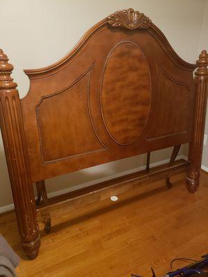 Wooden Queen Headboard for Sale in Burke, VA