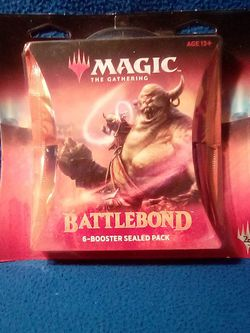 Magic The Gathering Battlebond Six Boosters Sealed Pack for Sale in Los Angeles,  CA