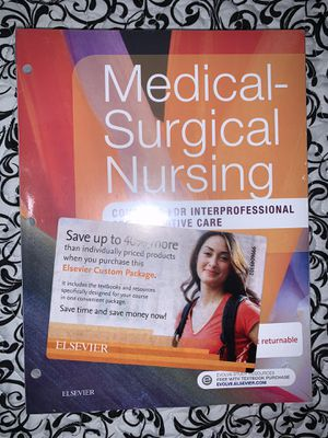 Medical Surgical Nursing: Concepts for Interprofessional Collaborative Care for Sale in Hialeah, FL