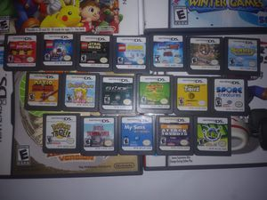 DS and 3DS Video Games they play on 2DS too. Prices Vary for Sale in Riverside, CA