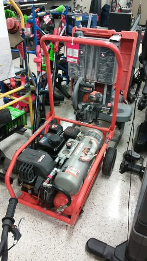 Ridgid Gas Compressor for Sale in NW PRT RCHY, FL