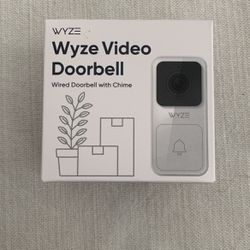 Wyze Video Doorbell Wired w/chime for Sale in Santa Ana,  CA